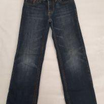 Calça Jeans escura lavada Tommy - 6 anos - Tommy Hilfiger