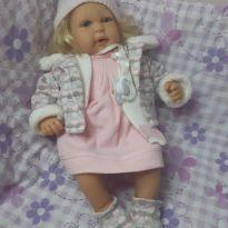 Boneca Bebe Reborn menina July Elegance - Baby Brink -  - BABY BRINK