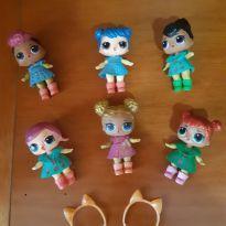 Kit com 6 bonecas tipo LOL não originais -  - Não informada