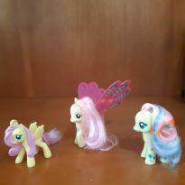 Little Pony - Kit com 3 Little Pony amarelas originais -  - Hasbro