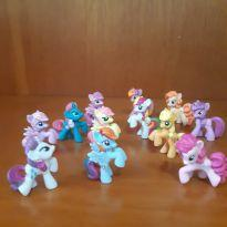 Little Pony - 12 miniaturas 4 cm Original Hasbro -  - Hasbro
