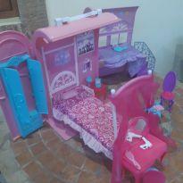 Casa móvel Barbie a princesa e a  Pop Star -  - Mattel