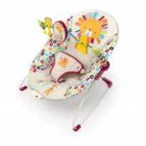 Cadeirinha Bebê - Bright Starts Playful Pinwheels Bouncer with Vibrating Seat -  - Bright Starts