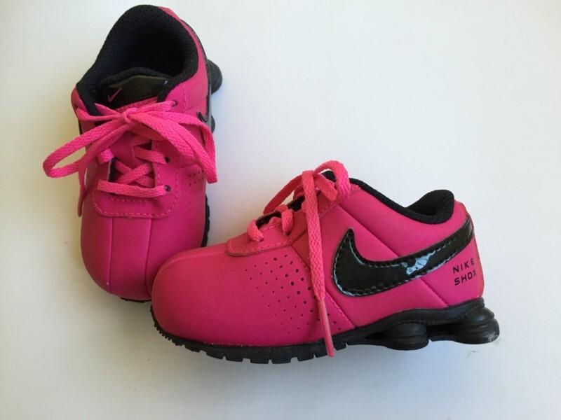 on sale 3fca1 31c57 Tênis Nike Shox infantil (dos EUA) Tamanho18 (5C) Original