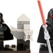 Lego Star Wars - kit com os 2 personagens do lado negro da força darth vader -  - Não informada