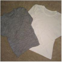 Kit 2 blusas - 3 anos - sem etiqueta