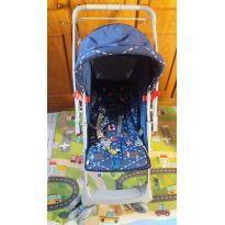 Carrinho Galzerano Milano Reversível com  Bebê Conforto -  - Galzerano