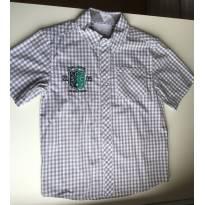 Camisa xadrez  manga curta Milon - 6 anos - Milon
