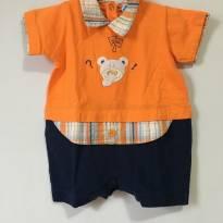 Macaquinho curto ursinho - 6 a 9 meses - Toys & Kids