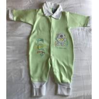 Kit Saida de Maternidade Verde 3 peças Tam RN - Recém Nascido - Sof & Enz KIDS