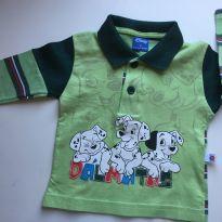Camisa Polo manga longa Dálmatas. Disney Tamanho M - 18 meses - Disney