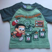 Kit 2 camisetas Chico Bento e Golinha Polo - 1 ano - Chico Bento Baby e Boquinha