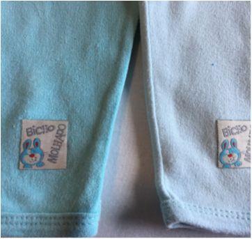 Kit 4 calças Bicho Molhado - 3 a 6 meses - Bicho Molhado