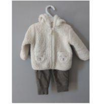 Conjunto Frio Urso Polar Carters - 3 a 6 meses - Carter`s e carter`s, baby gap, zara