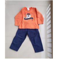 Conjunto de moletom infantil jaca lelé - 4 anos - Jaca lele