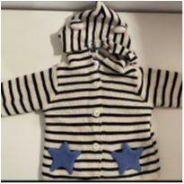 Blusa tricô Gap Baby - 6 a 9 meses - Baby Gap