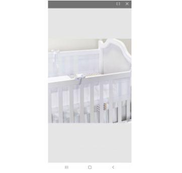 Tela Respirável para Berço 2 PeçasBatistela Baby - Sem faixa etaria - Batistela Baby