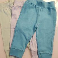 Combo 3 calças (3 a 6 meses) - 3 a 6 meses - MARCO TEXTIL TEEN E NAO I