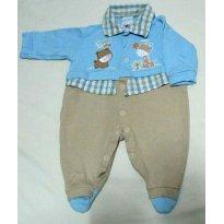 Macacão fofo - 0 a 3 meses - + 1 bebê