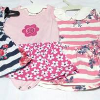 Vestidinhos LINDOS - 0 a 3 meses - Várias