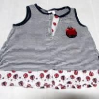 Vestido Joaninhas - 3 a 6 meses - Pulla Bulla