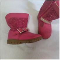 Botinha pink 19 - 19 - Mimopé
