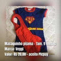 Pijama - 9 meses - Veggi