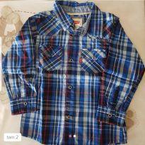 Camisa xadrez Levis - 18 a 24 meses - Levi`s