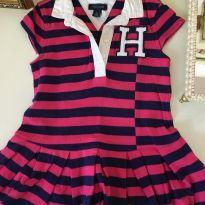 Vestido Tommy - 18 meses - Tommy Hilfiger