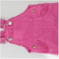 Jardineira Pink menina BabyClub - 2