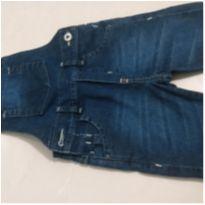 Jardineira jeans infantil menino - 2