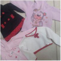 Lote blusas infantis menina
