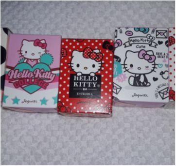 Combo 5 Mini Colônias Hello Kitty Jequiti - Sem faixa etaria - Jequiti