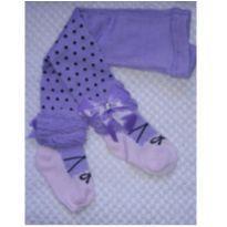 Meia calça de Lã infantil - 1 ano - Não informada