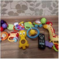 Lotinho 10 brinquedos fisher price e outros -  - Fisher Price