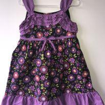 Vestido rodado com flores importado - 3 anos - Toddler Books