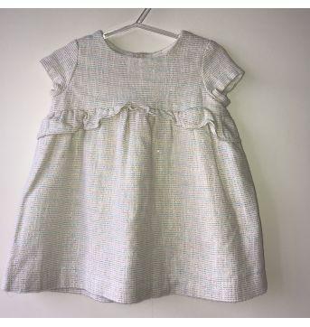 Vestido bordado Zara - 12 a 18 meses - Zara