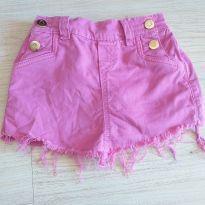Short saia lilás linda - 5 anos - Canal da Criança