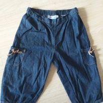 Calça Capri Jeans linda - 3 anos - EPK