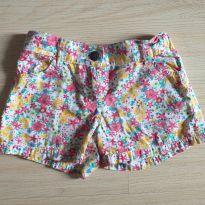 Lindo short florido - 6 anos - Fuzarka