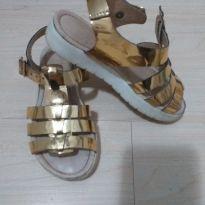 Sandália dourada - 28 - Ortopasso