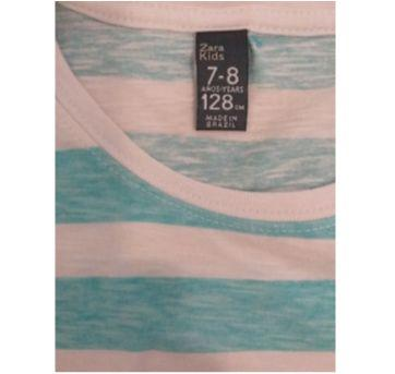 Blusa listrada Zara - 8 anos - Zara