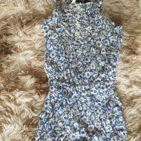 Macaquinho flores azul e branco Ralph Lauren - 1 ano - Ralph Lauren