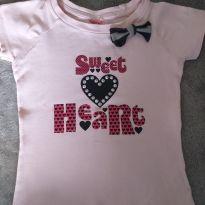 Blusa rosa - 5 anos - Sem marca e sem etiqueta