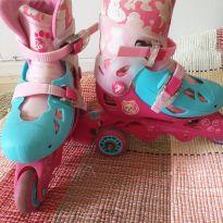 Patins ajustável rosa Barbie -  - Barbie