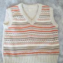 Colete tricot - 2 anos - sem etiqueta e Marca não registrada
