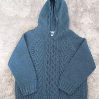 Casaco tricot azul - 2 anos - Twiky