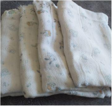 Lote de toalha fralda - Sem faixa etaria - Sem marca