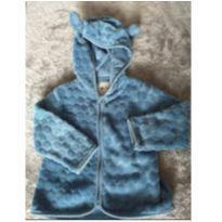 Casaco azul com capuz e orelhinhas - 1 ano - Poim e Renner