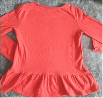 Blusa manga comprida vermelha Carter`s - 6 anos - Carter`s